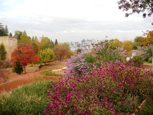 La Alhambra en Otoño